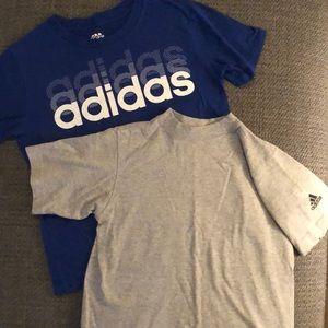Adidas 2 t-shirt bundle🏃♀️ size 10